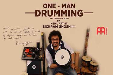 Amazing Drum Solo - One - Man Drumming - Bickram Ghosh