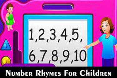 Number Rhymes For Children